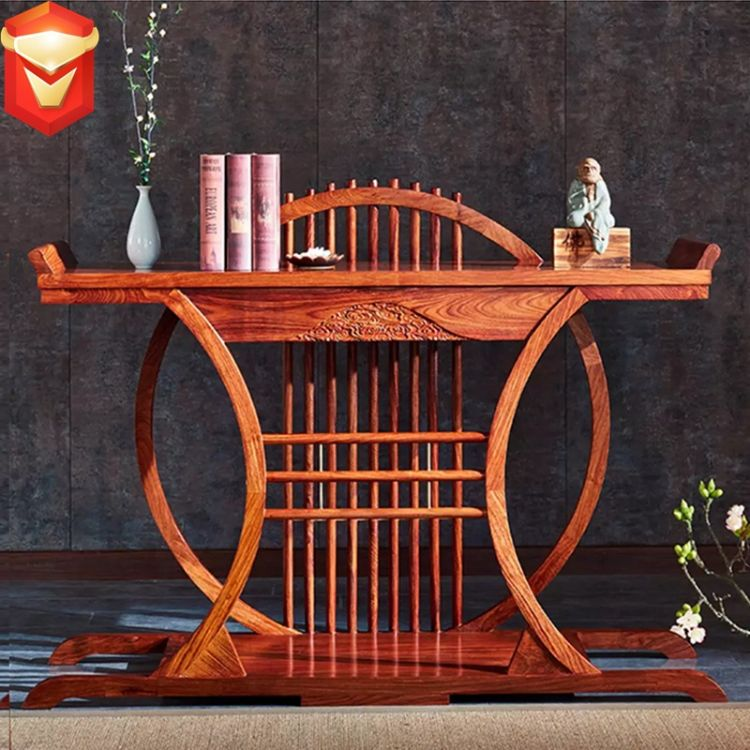 古隆居红木家具乔台实木供桌刺猬紫檀玄关台条案中式神台供台画案