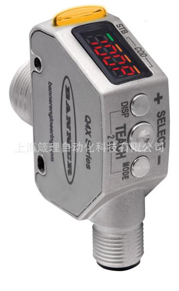 美国邦纳激光测距传感器 位移传感器 Q4XTBLAF100-Q8
