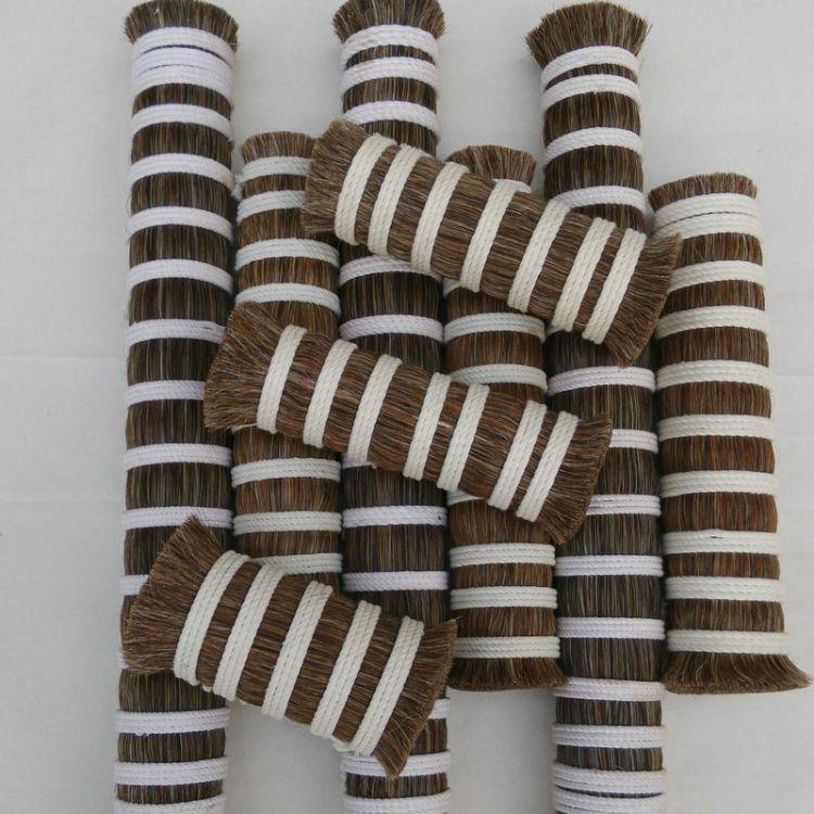 7成0.15PP混合3成纯花马尾定制  混合均匀耐磨耐湿柔软滑顺马尾毛