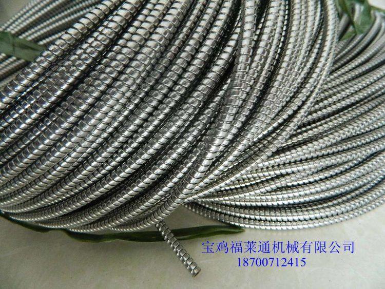 西北地区供应穿线用金属软管,PVC包塑不锈钢蛇皮管DN25