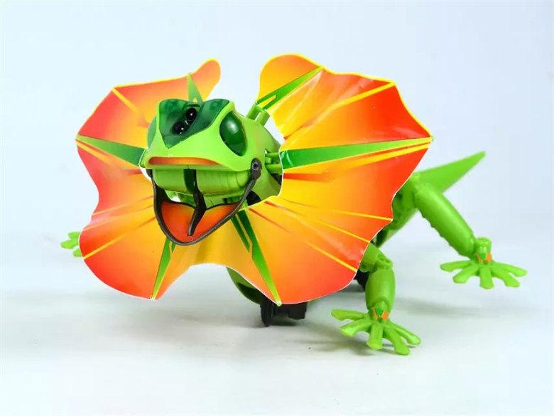 新阳光自装感应蜥蜴 儿童益智科教DIY 创意新奇特电动感应蜥蜴