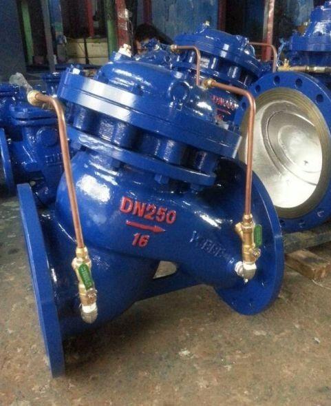 JD745X多功能水泵控制 阀活塞式多功能水泵控制阀 温州致信阀门