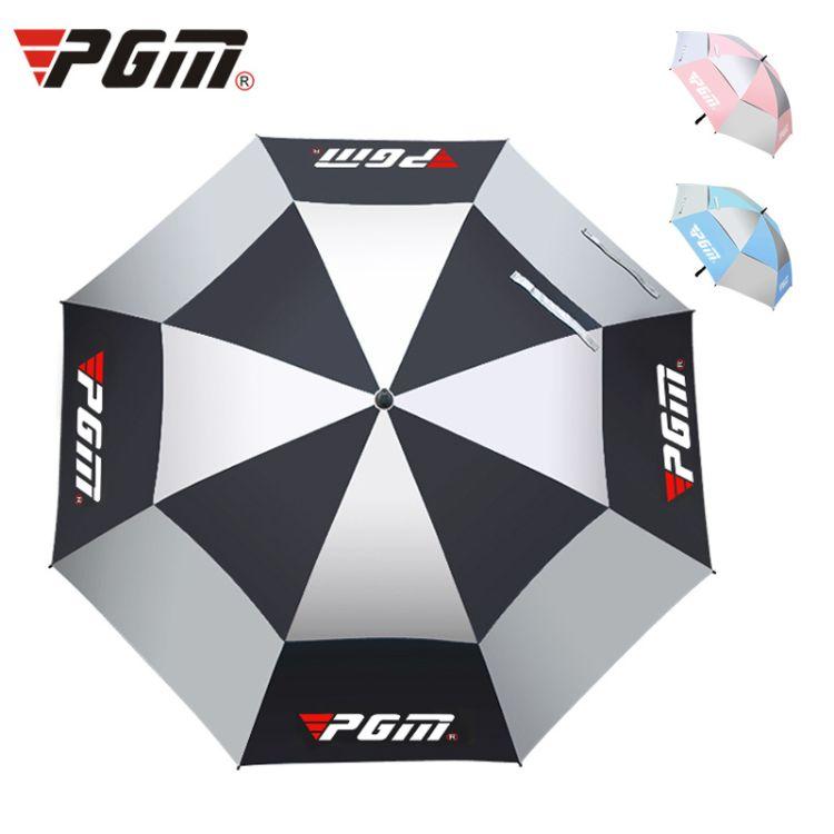 高尔夫伞 PGM YS003厂家直销 高尔夫手动/自动雨伞 遮阳伞抗台风级玻璃纤维直杆