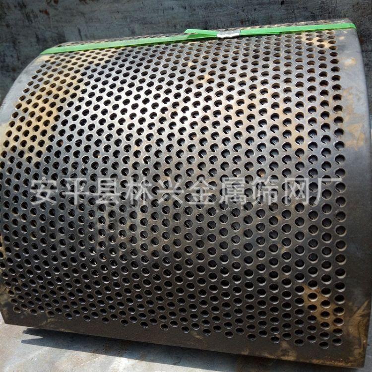 林兴粉碎机筛网厂家直销耐磨筛板批发零售锰钢筛片