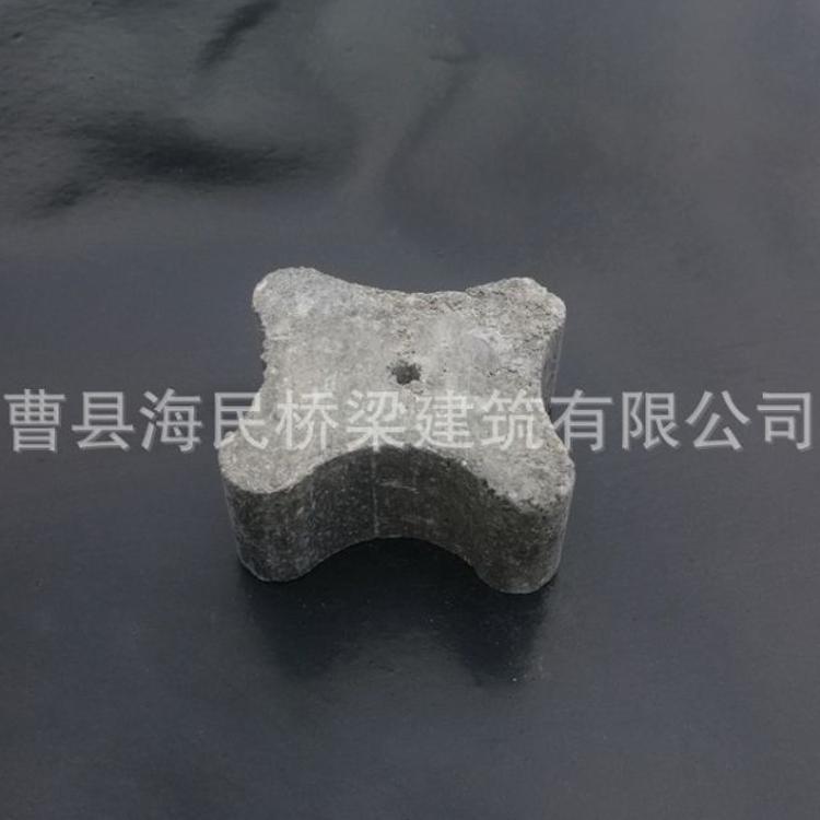 高铁高速桥梁建筑专用梅花水泥垫块 规格30*35*40