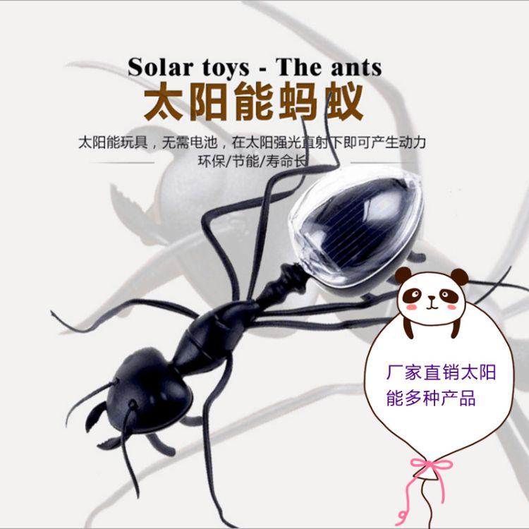 新奇特创意太阳能玩具蚂蚁蟑螂蜜蜂昆虫儿童益智趣味整蛊科教礼物