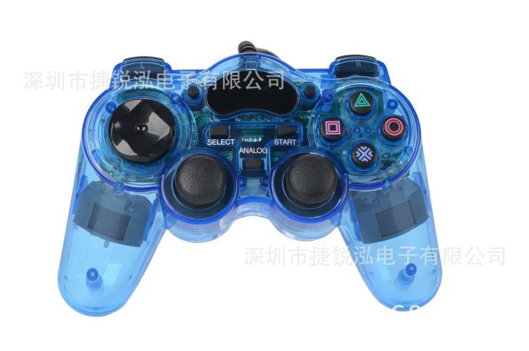 PS2+USB有线手柄,工厂私模,欢迎订购