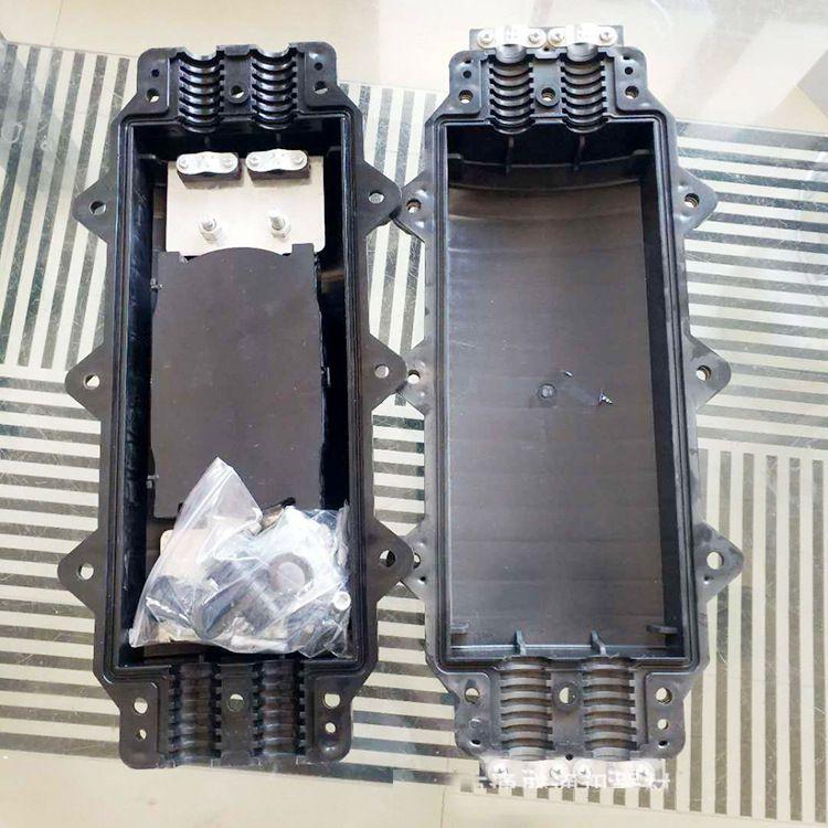 厂家直销卧式通信接头盒24芯144芯光缆接续盒防水型光纤接线盒