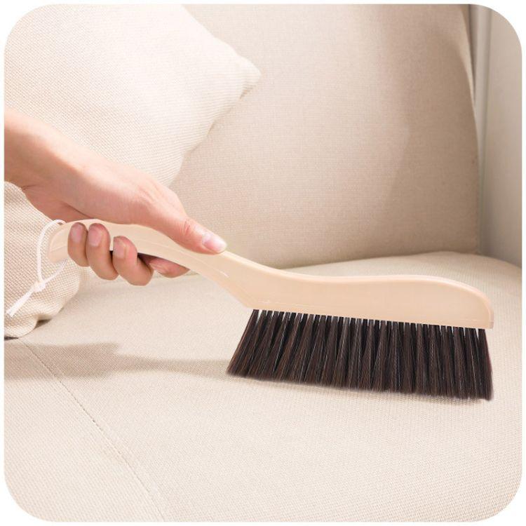 家居清洁长柄防鬃毛除尘床刷大号防静电清洁刷子沙发床垫除尘掸子