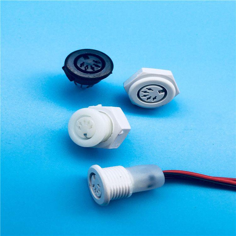美容仪器接插件五芯八芯气管快速接头调节阀