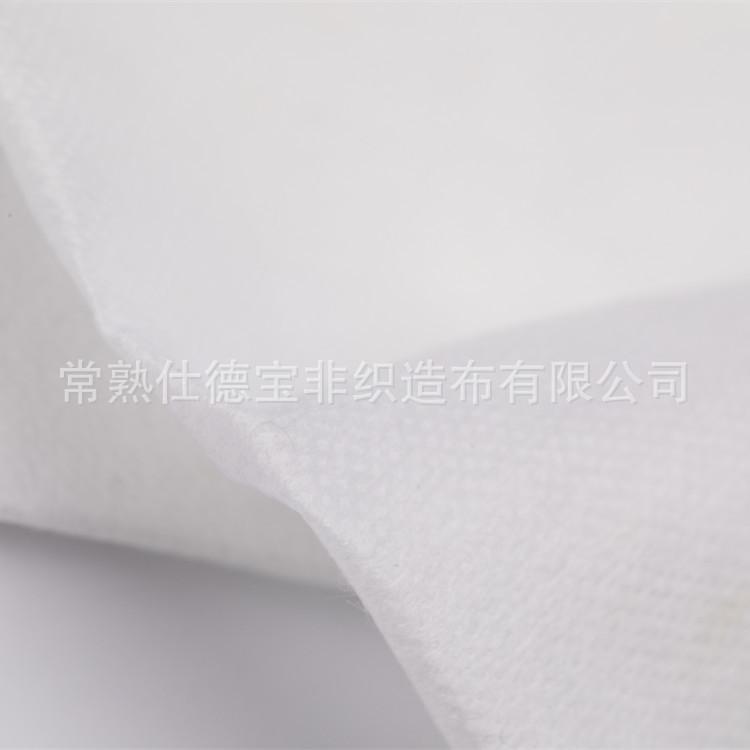 大量供应涤纶短纤热轧无纺布 中化纤热轧无纺布 工厂批发