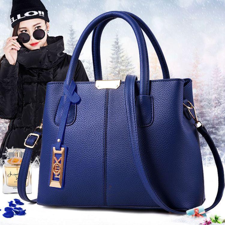 2018新款戴妃包女士时尚潮流单肩包手提潮女包 厂家直销 一件bags