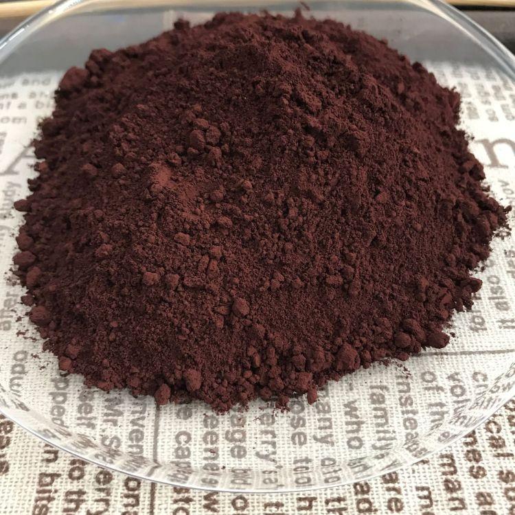 厂家供应 无机颜料 氧化铁棕 马路砖专用氧化铁棕860棕色颜料