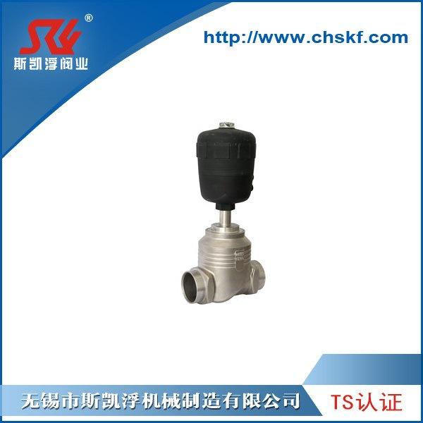 焊接型气动截止阀 无锡气动阀门厂家SiKaiFu 不锈钢截止阀