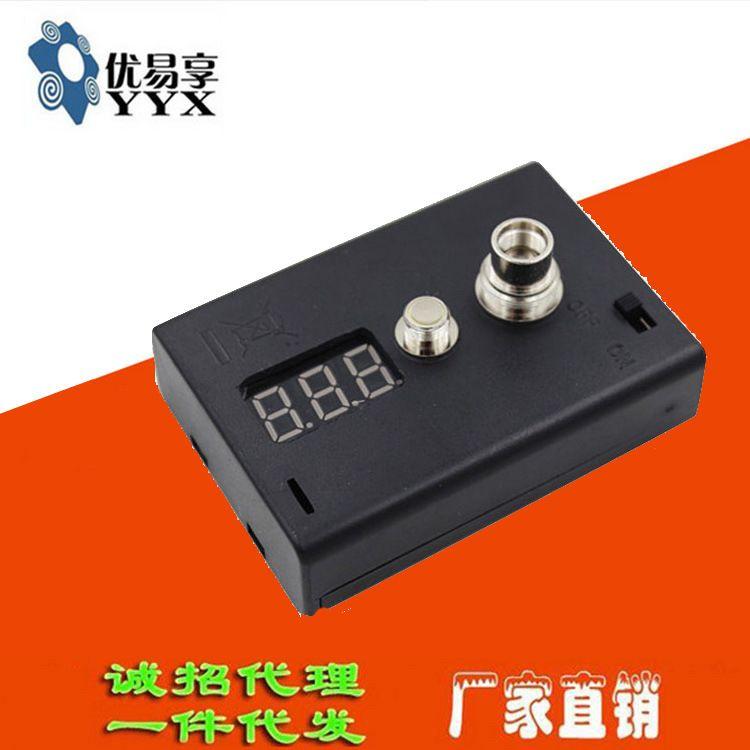 电子烟雾化器测试仪 测阻仪 测电压 欧姆表 电阻仪测 电阻测试盒