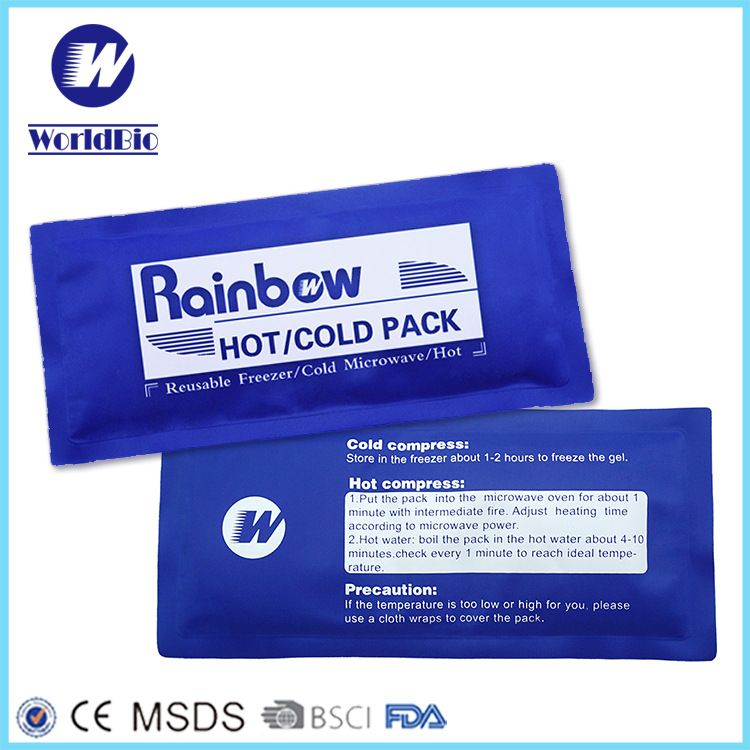 冷热敷袋冰袋热袋尼丝纺尼龙凝胶亚马逊热销工厂厂家直销ice pack