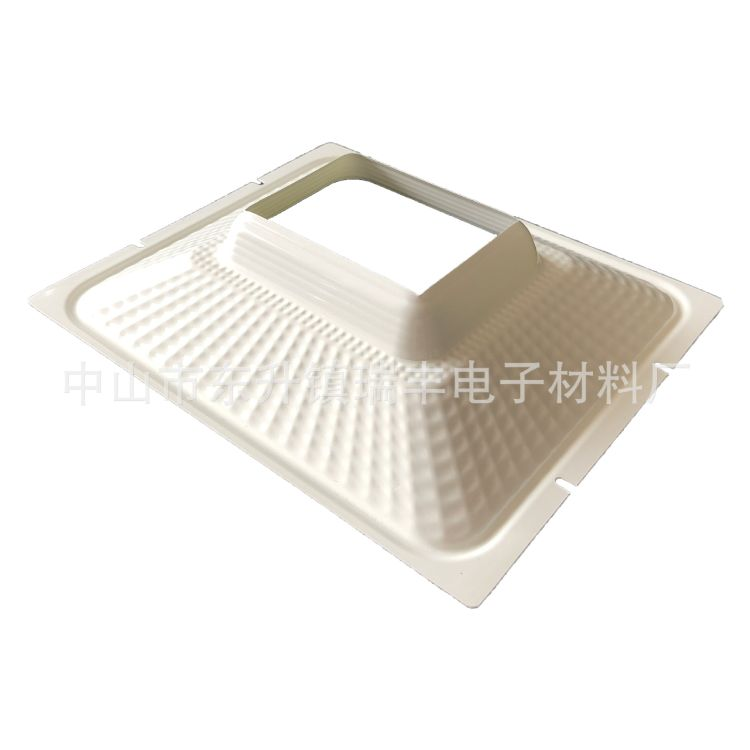 中山厂家直销瑞丰灯饰配件户外照明LED投光灯专用纳米PC反光杯
