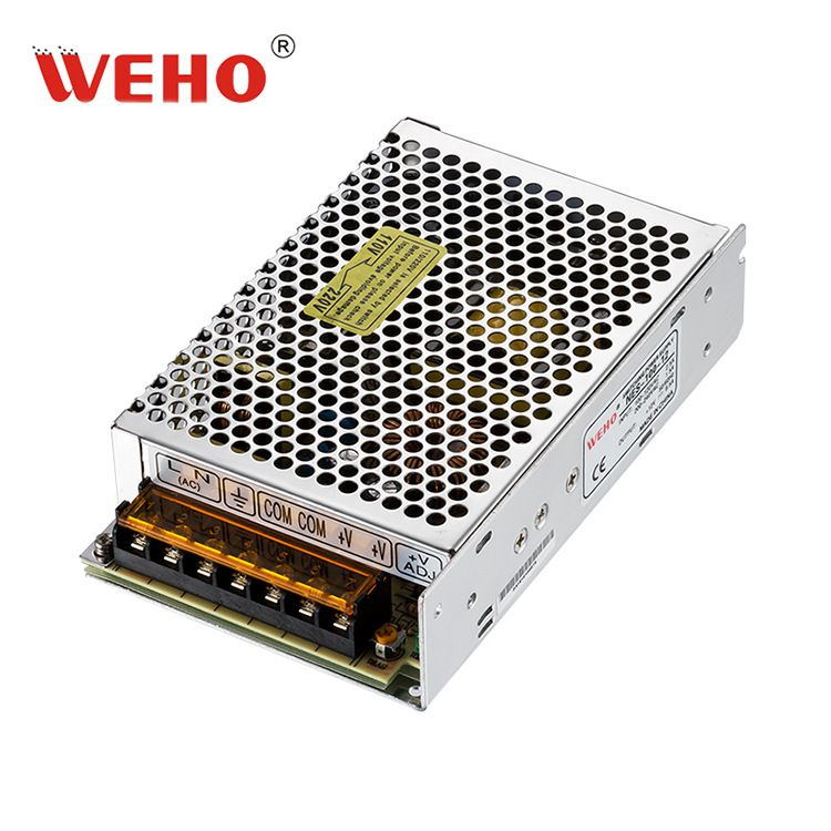伟豪24V4.5A直流开关电源100W安防监控电源NES-100-24欧盟CE认证