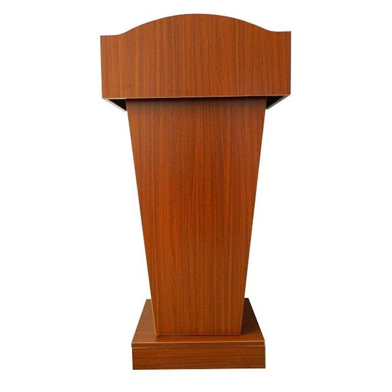 实木演讲台厂家直销 学校酒店会议室多功能木质迎宾台