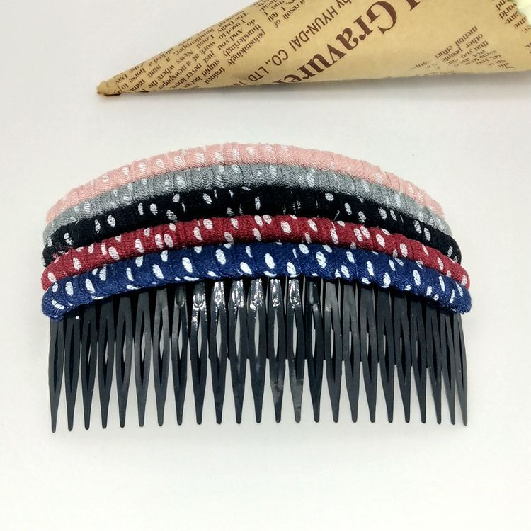 制作盘发亚马逊箍发卡通梳插简约饰夹子手工前插服饰配件饰品发饰