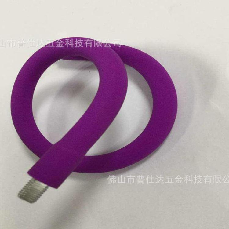 厂家直销 台灯金属软管 LED护眼灯灯柱 可弯曲定型蛇管 外包硅胶