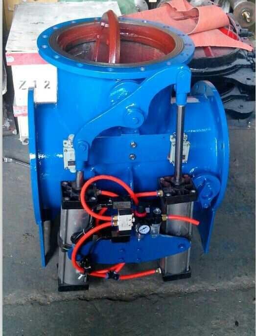 维胜阀门厂家直销 SQD643X-1 气动三通切换阀DN250  煤气三通切换阀