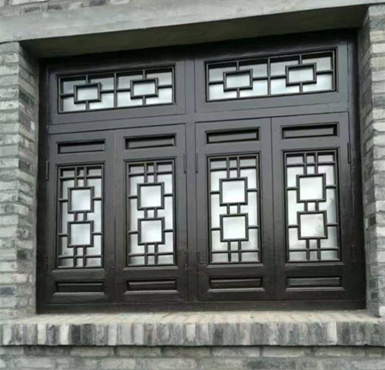 东阳木雕中式仿古屏风仿古门窗中式花格玄关隔断花格实木门窗雕刻
