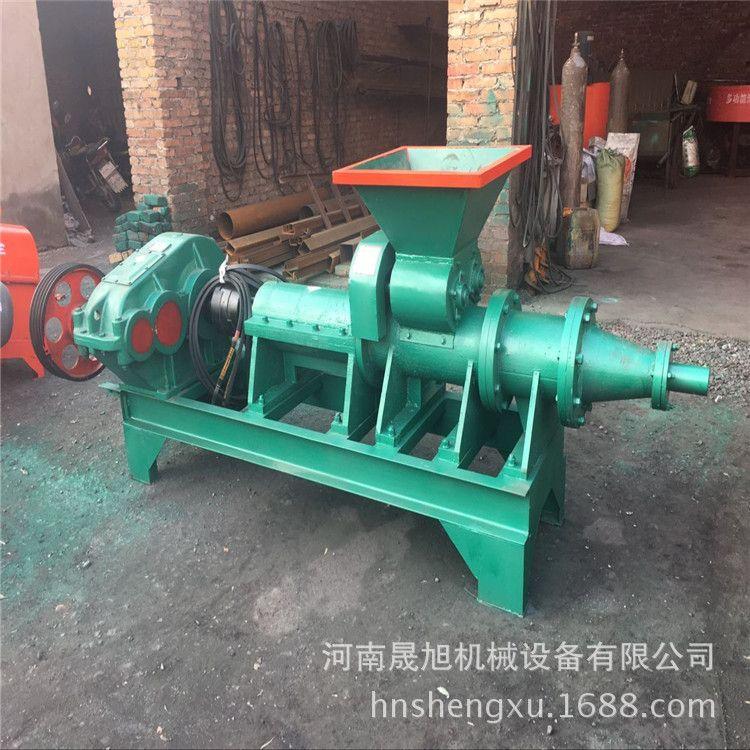 热卖烧烤炭棱形煤棒机 空心煤粉制棒机 多功能高压煤棒挤出机