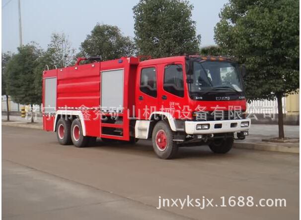 豪沃15-16吨双桥泡沫消防车厂家及价格