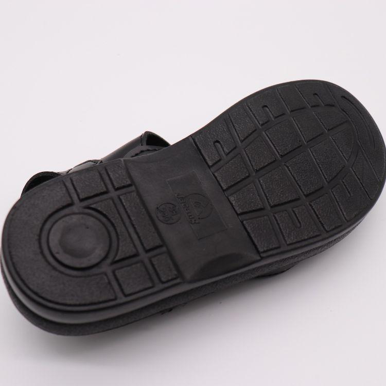 批发室内外防静电环保PU无尘新款凉鞋男黑色皮革鞋子