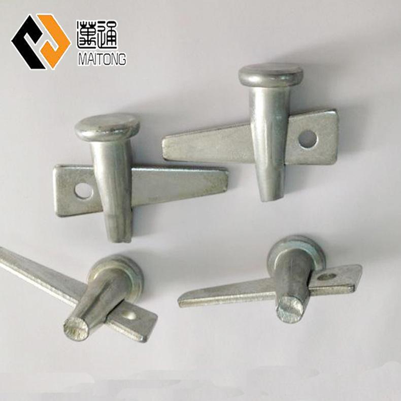迈通直销 铝模板配件 销钉 销片 碳钢8.8级建筑铝模板用K板螺栓