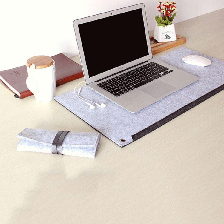 厂家直销 时尚毛毡电脑桌垫 定制批发鼠标垫 笔记本平板电脑桌垫