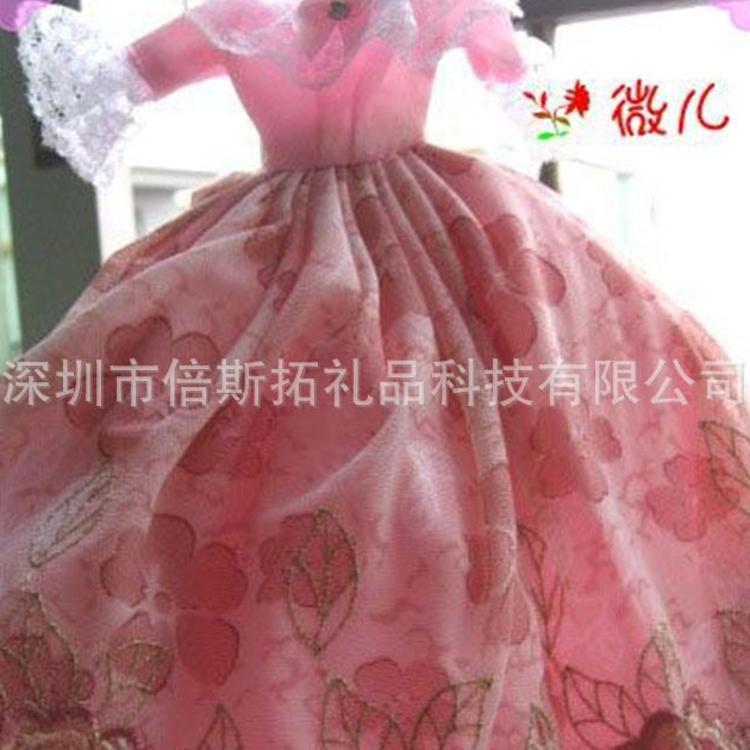 厂家代加工定制精品娃娃衣服婚纱裙子礼服动漫服饰来图来样开发