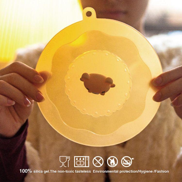 小熊保鲜盖 碗盖 泡面神器 创意厨卫 创意家居 礼品定制