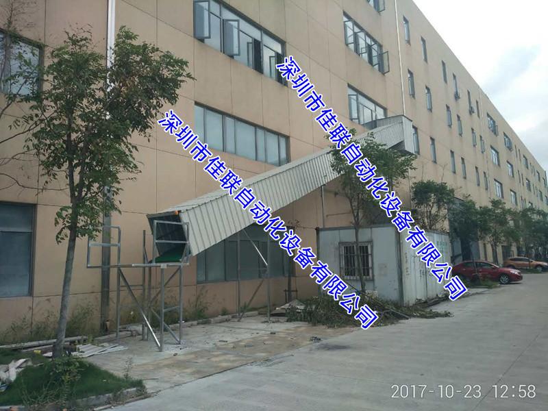 五楼电商工厂仓库卸货滑梯滑道