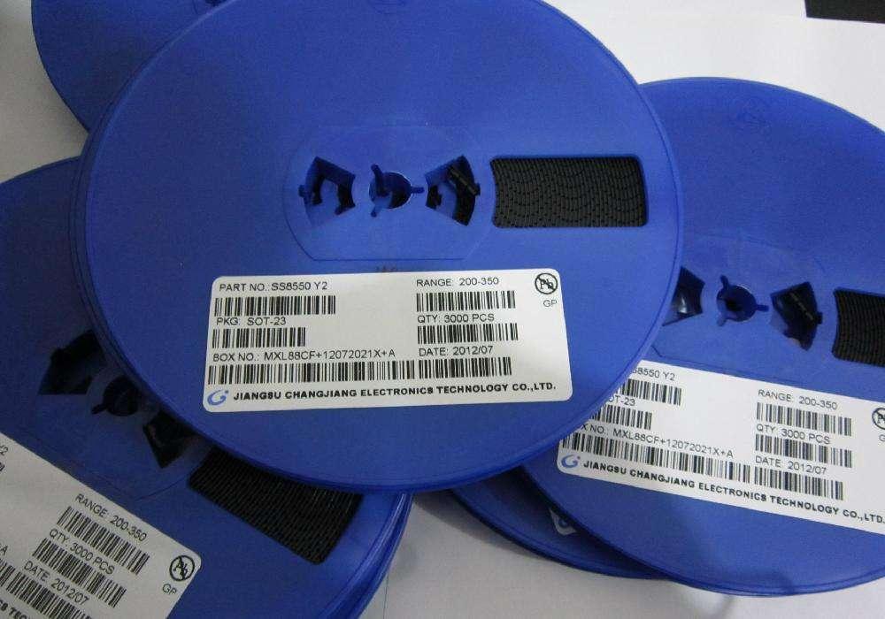 BC847BV SOT-563 丝印K4V 长电 贴片三极管 长电 复合管