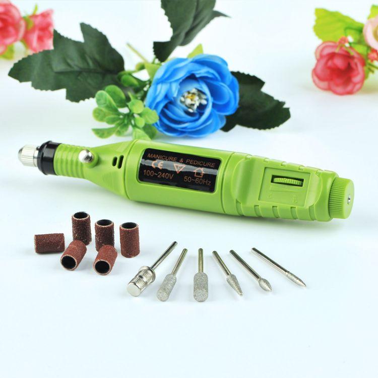 迷你电磨钻孔打磨抛光机 根木雕文玩电动工具微型玉石雕刻字笔
