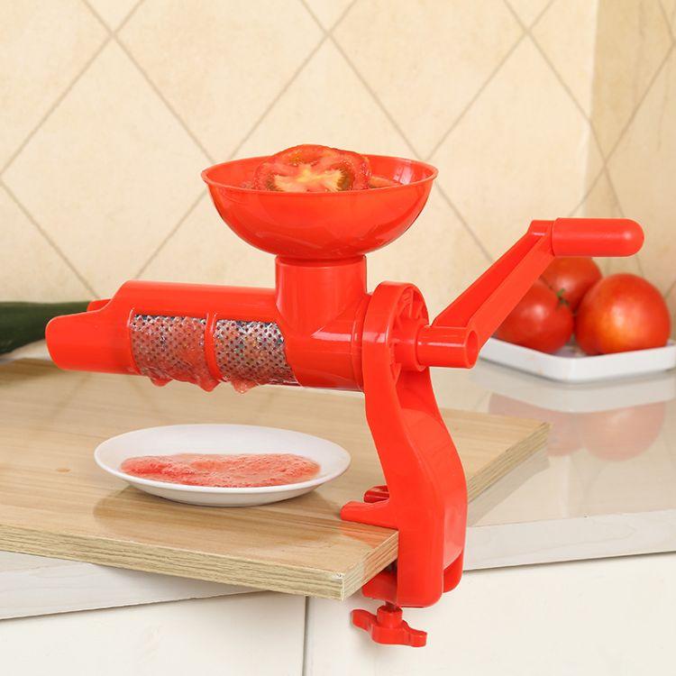 手摇榨汁机 厨房家用多功能手动番茄榨汁器礼品料理机果汁机批发