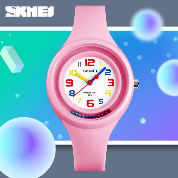 时刻美新款防水儿童电子手表 旋转时尚果冻 潮流个性女童手表