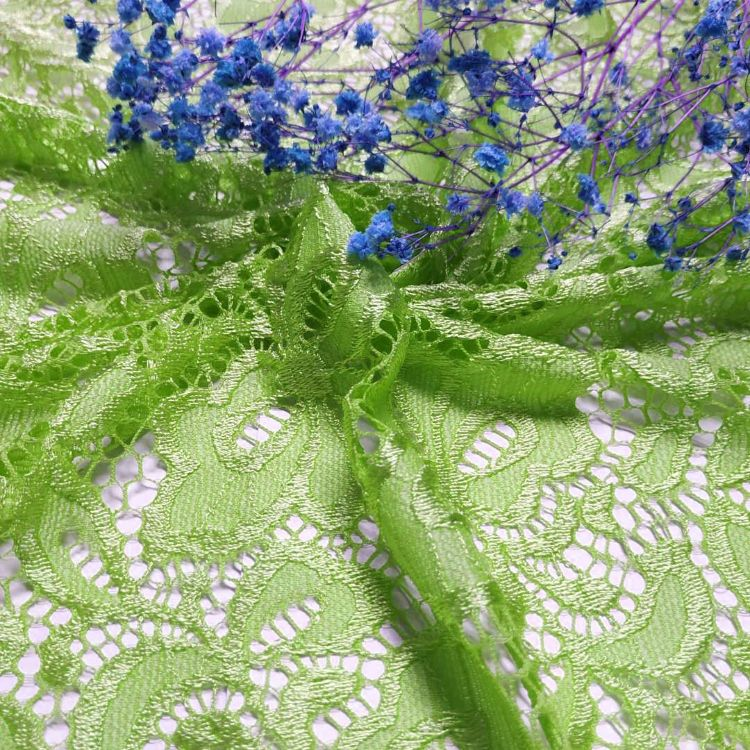 厂家直销 四面弹柔软蕾丝花边面料  服装服饰辅料 时装窗帘花边