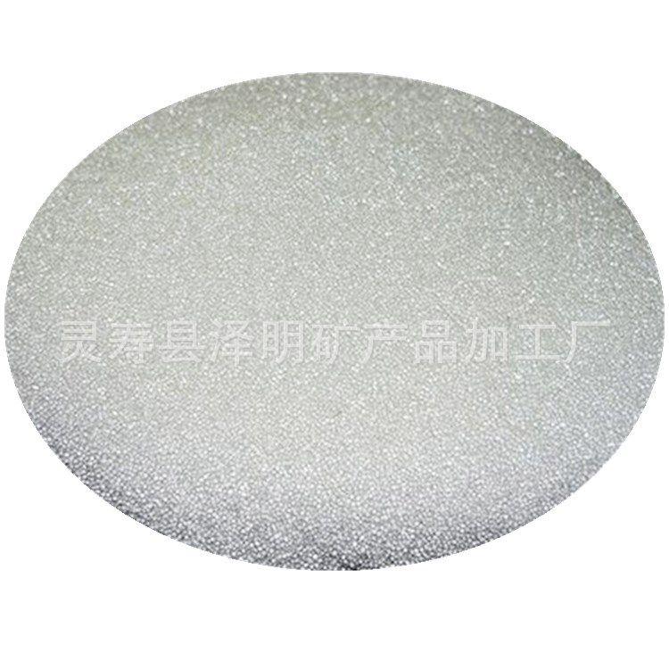 厂家供应玻璃微珠 反光国产玻璃喷砂级微珠