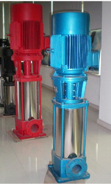 羊城牌立式多级泵-广东稳压泵-广州增压泵-50FGL18-30*5-深圳水泵