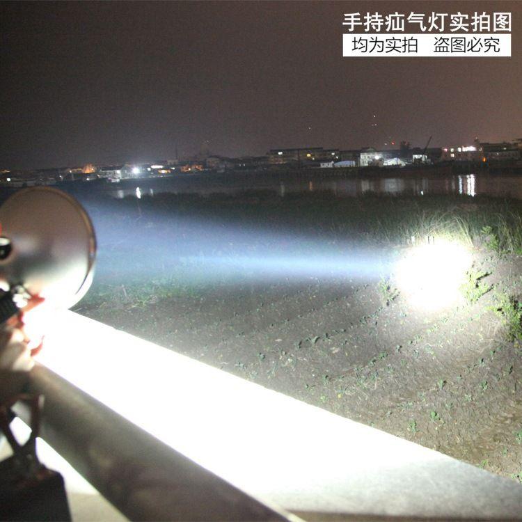 疝气灯狩猎灯户外手电筒氙气灯12v200w15cm野鸡野兔疝气灯探照灯