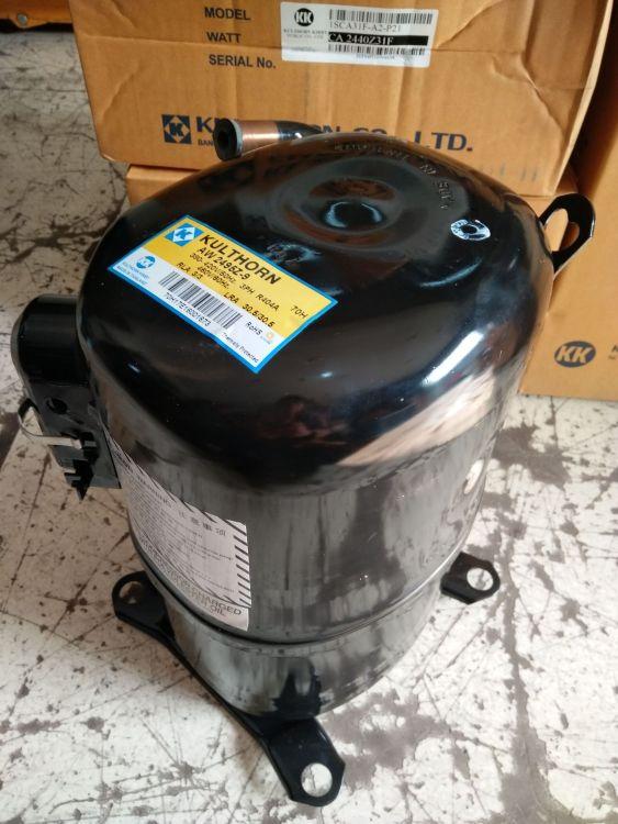 热销供应原装进口KK压缩机AW2495Z-9低温设备 制冰机 冷库R22R404