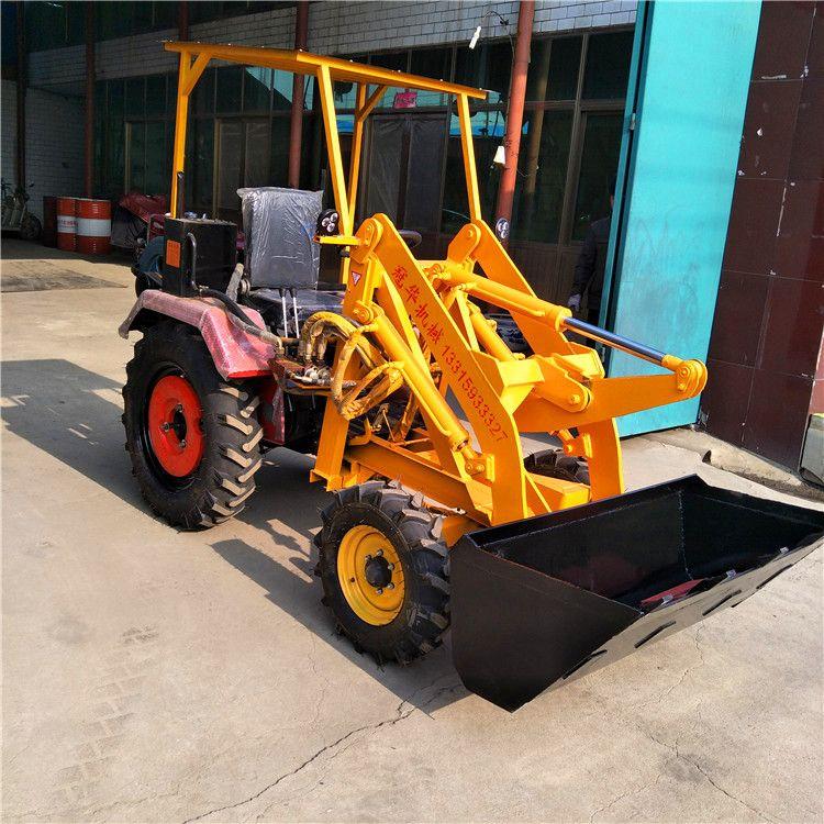 直销 小型工程装载机小铲车 工地上料