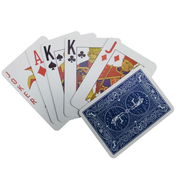 厂家定制RFID智能标签塑料扑克牌 Icodeslix射频芯片pvc魔术扑克