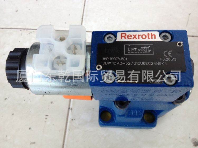 先导式溢流阀DBW10A2-52/315U6EG24N9K4原装正品Rexroth力士乐