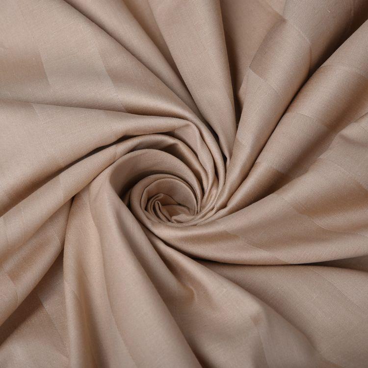 厂家直销酒店床品面料 宾馆酒店床上用品四件套各色缎条面料