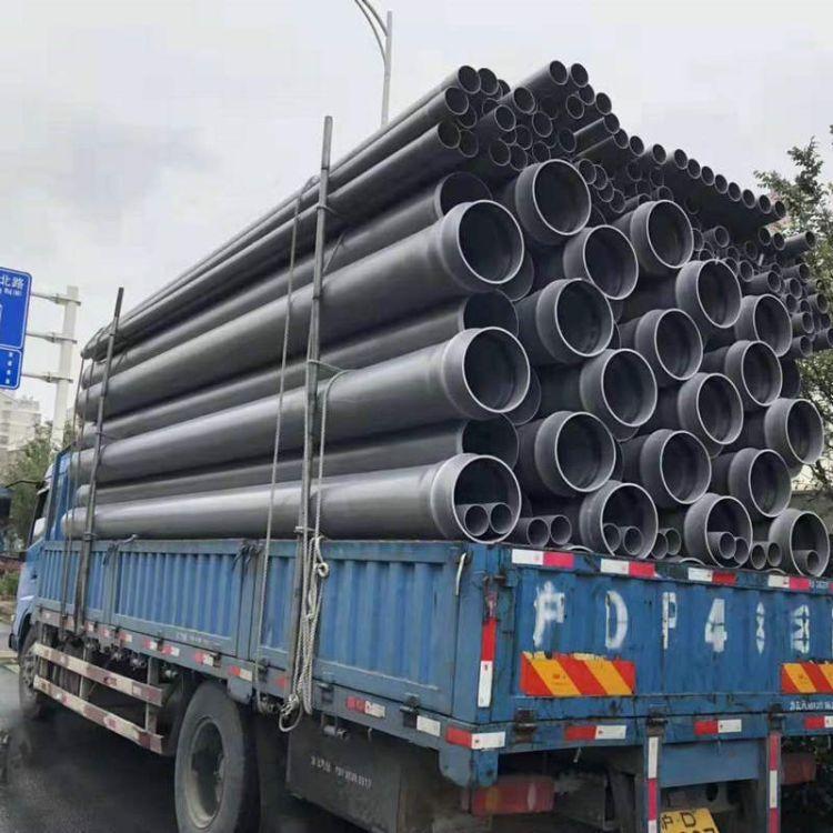 仁州管业 聚乙烯HDPE给水排水管 实壁管PE排污管供应