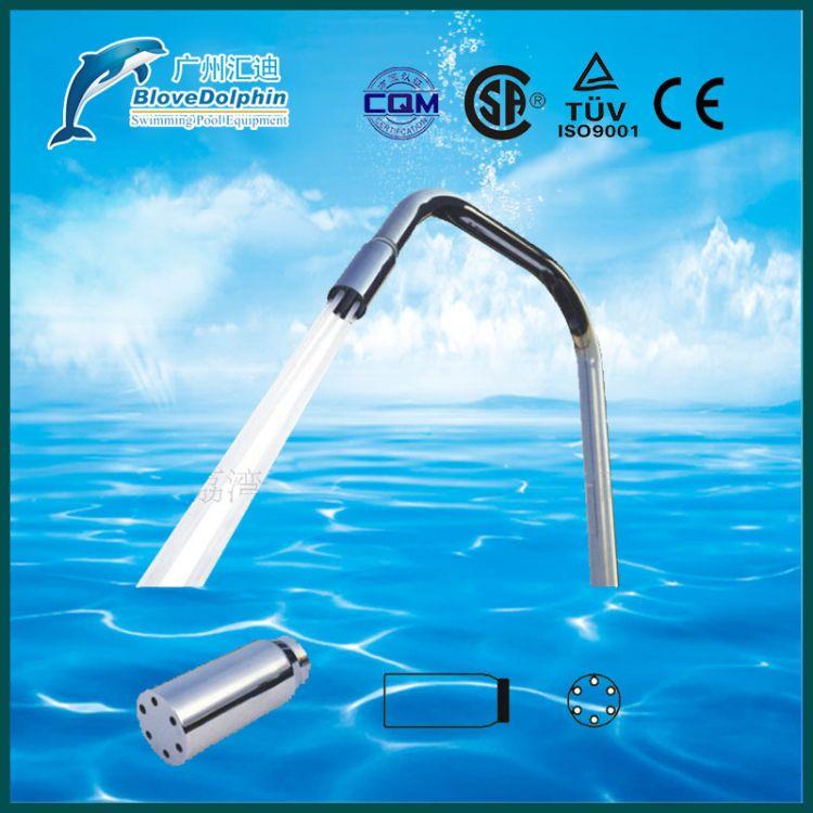 大量供应 蓝海豚小型水疗设备圆柱六孔喷头 鸭嘴喷头 鸭嘴杆